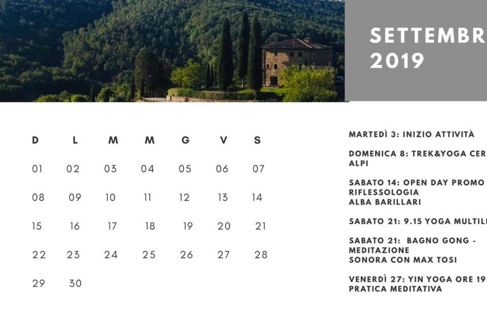 Tutti gli eventi di Settembre 2019