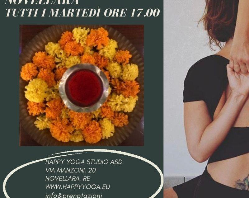 Yoga base – tutti i martedì ore 17.00
