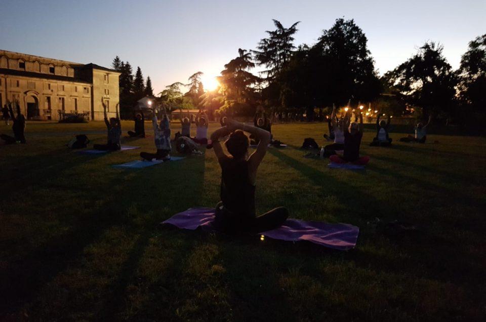 Trekking & Yoga notturno sotto la luna piena venerdì 5 giugno, Reggio Emilia