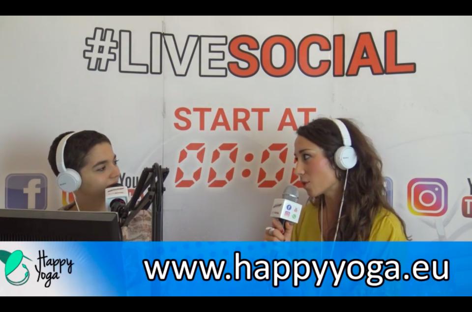 Intervista a Radio International sulla mia esperienza personale sullo Yoga