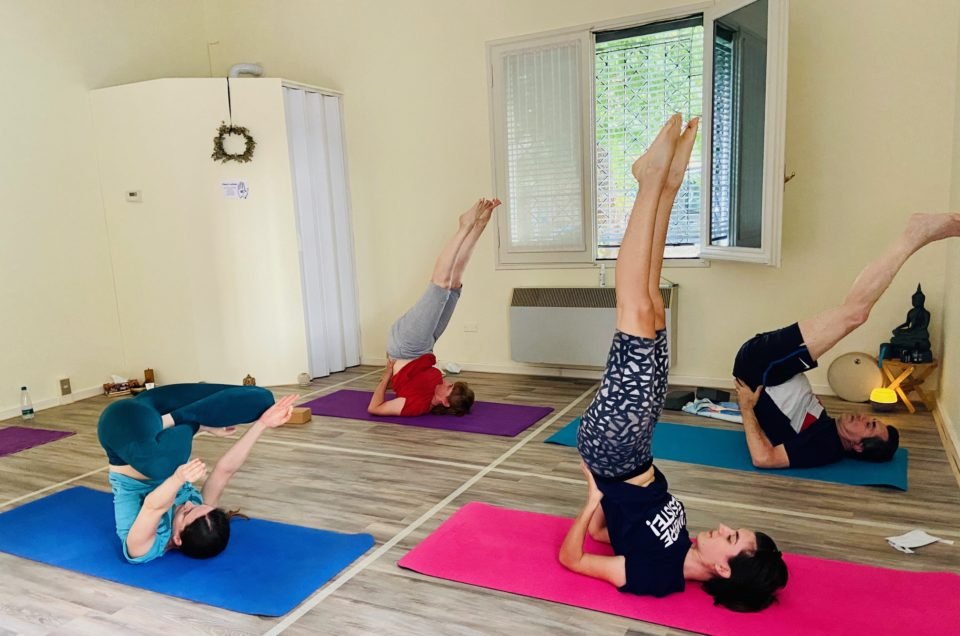 Happy Yoga Studio Novellara cambia sede